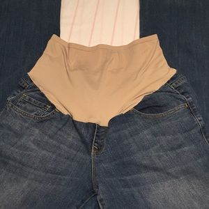 Old navy maternity pants size 12 boot cut